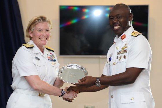 Obangame Express 2019 Opens in Lagos, as U.S. Equips Maritime Training School [Twitter/@USEmbassyAbuja]