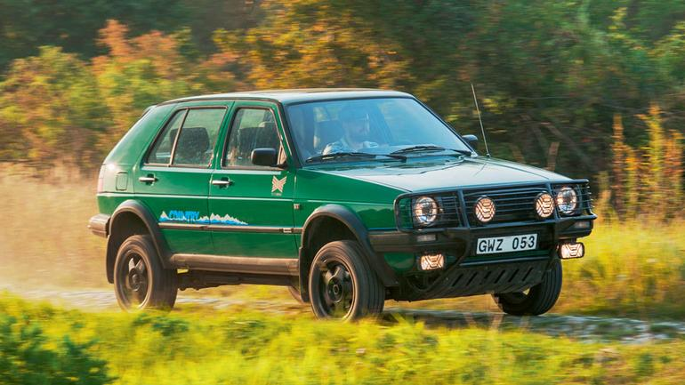 Volkswagen Golf Country - z miasta na wieś
