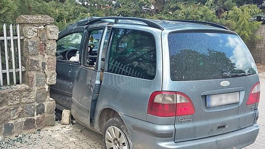 Dobiegniew: Samochód, którym w maju br. uciekał 34-latek