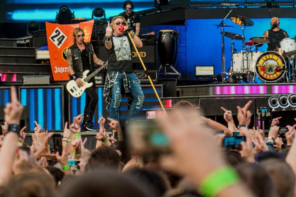 Koncert Guns N'Roses na Stadionie Śląskim w Chorzowie