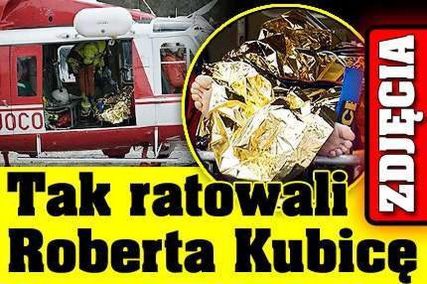 Tak ratowali Kubicę. ZDJĘCIA