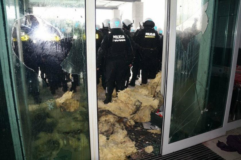 Jastrzębie Zdrój. Policja interweniowała w czasie zamieszek 9 lutego 2015 roku