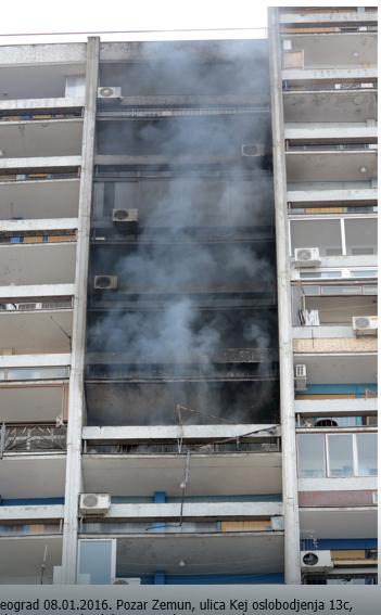 Bilo je požara i na višim spratovima