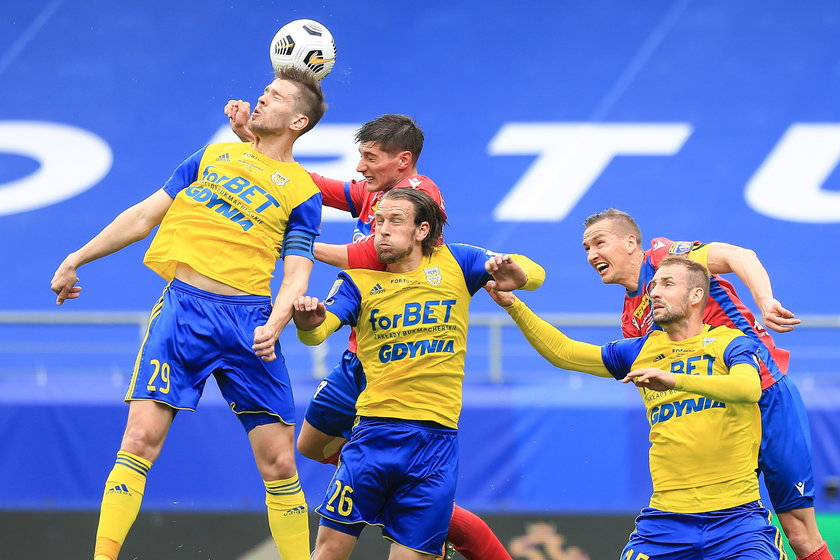 Arka przegrała finał Pucharu Polski z Rakowem (1:2), ale gdynianie nie mają się czego wstydzić.