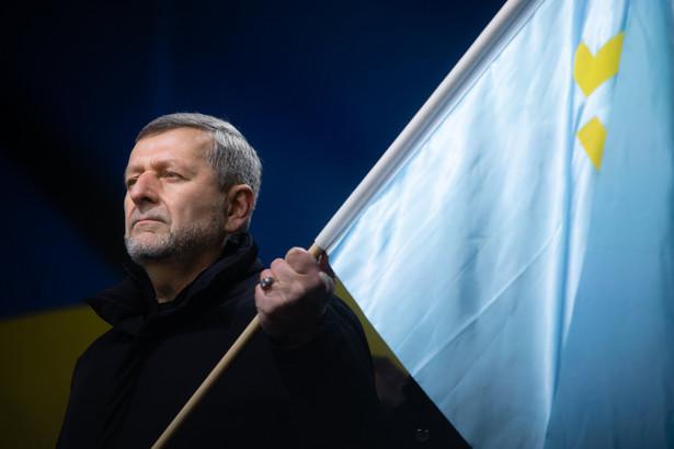 Achtem Czyjhoz, ukraiński poseł narodowości krymskotatarskiej, były więzień polityczny