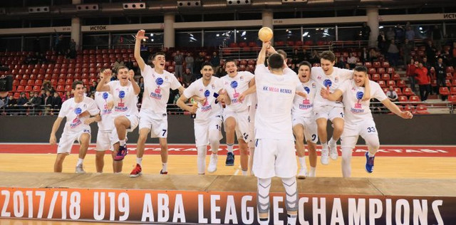 Juniorski šampioni ABA lige: Košarkaši Mega Bemaksa