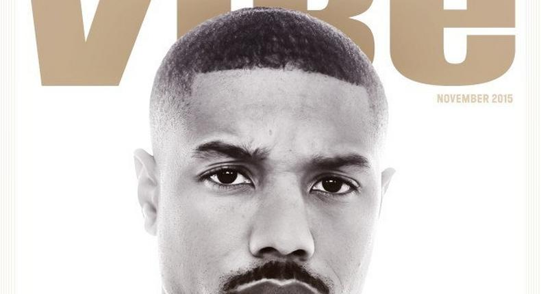 Actor on the cover of Vibe magazine