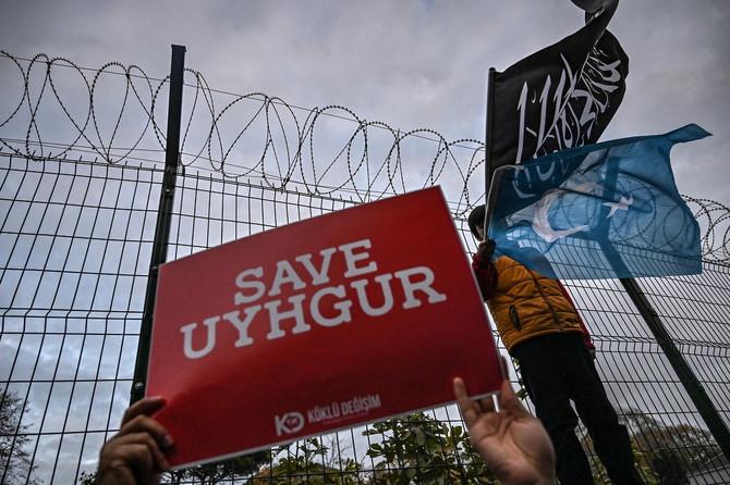 Ujguri protest