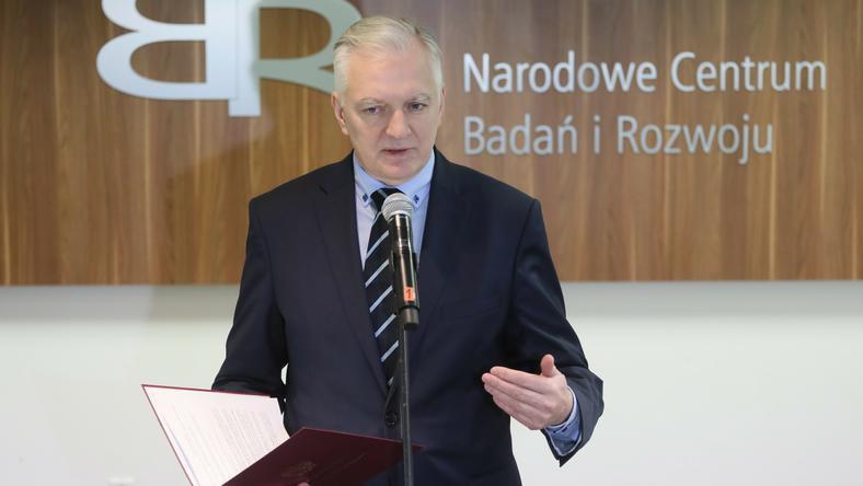 Jarosław Gowin jako szef jednej z partii koalicyjnych nie musi obawiać się utraty stanowiska