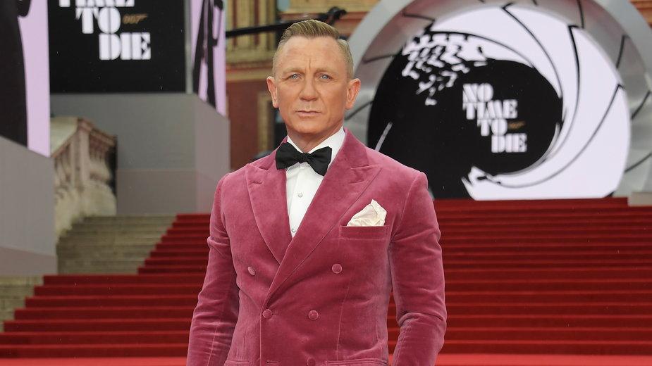 """Premiera filmu """"Nie czas umierać"""": Daniel Craig"""