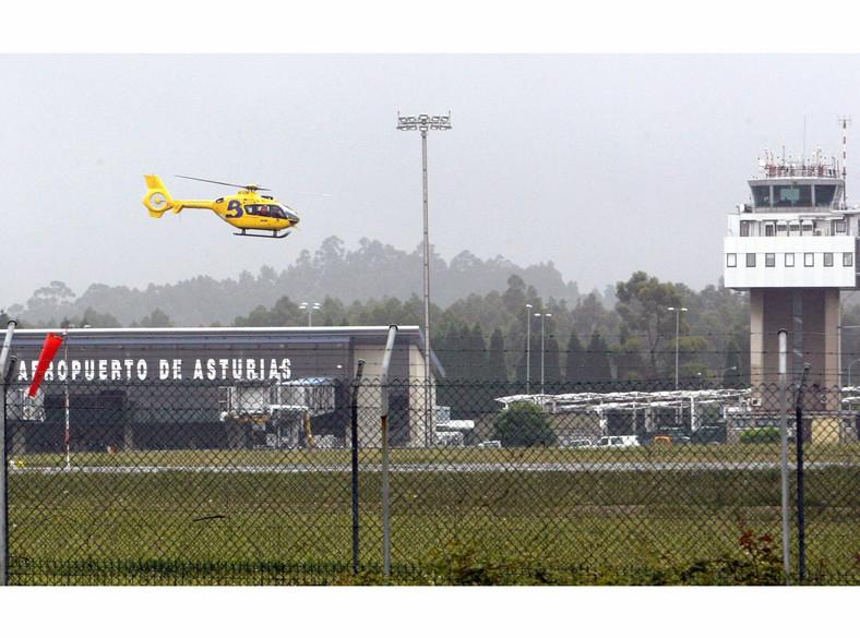 Akcja ratunkowa - zdjęcie udostępnione przez straż pożarną