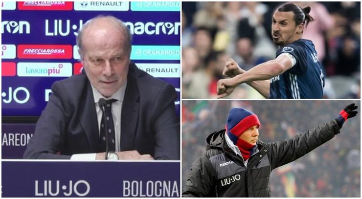 Sabatini, Mihajlović i Ibrahimović