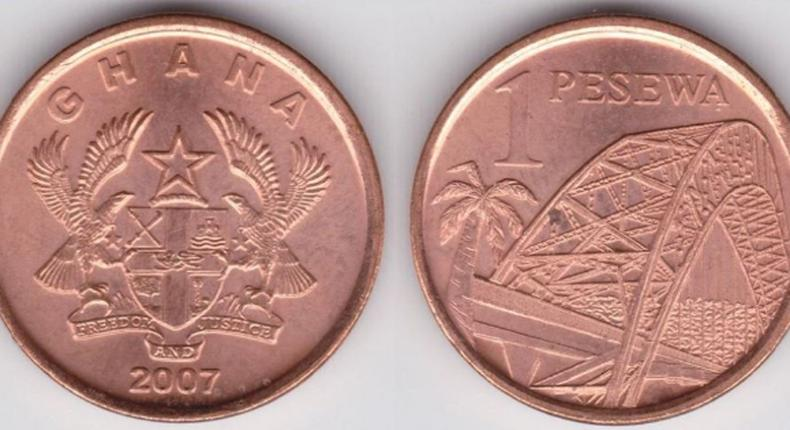 Bank of Ghana warns Ghanaians against rejecting the 1Gp coin, says the coin is still a legal tender