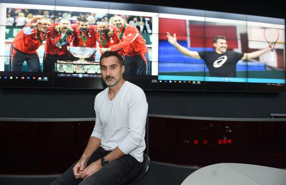 Nenad Zimonjić u poseti redakciji