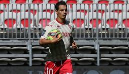 Wissam Ben Yedder scored his first Ligue 1 goal of the season Creator: Valery HACHE