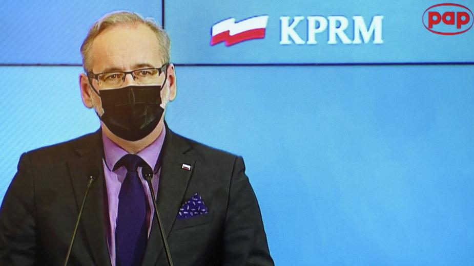 Koronawirus w Polsce. Czwarta fala pandemii. Niedzielski: istnieje ryzyko