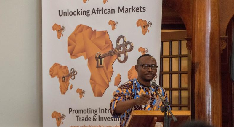 Steve Arowolo, the Convener and Founder of the Unlocking African Markets, Promoting Intra-African Trade and Investments.