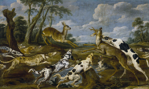 Lovački psi vekovima u visokom društvu