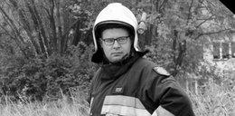 25-letni Darek zginął tragicznie. Strażacy żegnają druha