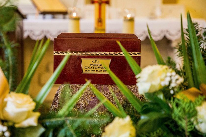 Pogrzeb Dariusza Gnatowskiego