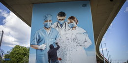 Niezwykły mural w Gdańsku. Tak miasto dziękuje medykom