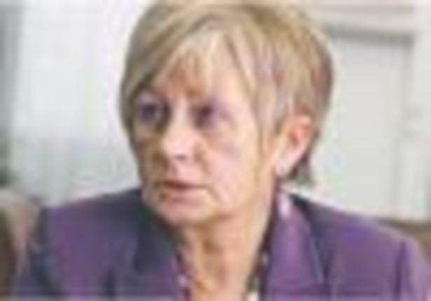 Elżbieta Suchocka-Roguska, – wiceminister finansów, odpowiedzialna za budżet Fot. Wojciech Górski