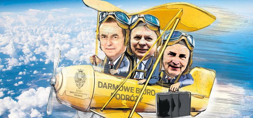 Senat lubi sobie polatać! Senatorowie wydali ponad milion złotych na podróże krajowe i zagraniczne