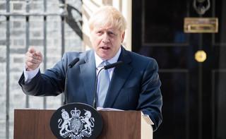 Premier Boris Johnson o zamieszkach w Waszyngtonie: Haniebne sceny