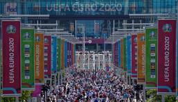 Wembley is set to stage the Euro 2020 final Creator: Niklas HALLE'N