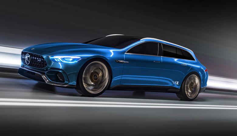 Ciekawe koncepcje shooting brake i cabrio Mercedesa