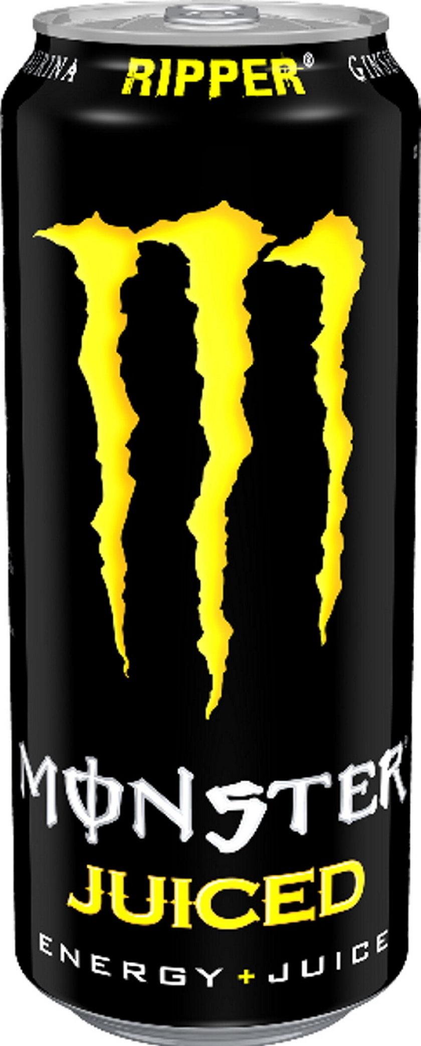 Monster Ripper, gazowany napój energetyczny 500ml