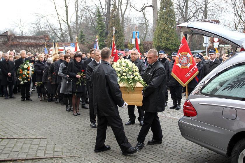 Pszczyna. Pogrzeb Tomasza Tomczykiewicza (†54l.)