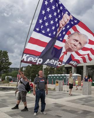 Trump w przemówieniu z okazji 4 lipca: Zagraża nam 'skrajnie lewicowy faszyzm'