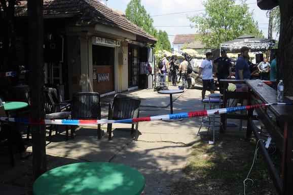 Kafić u Žitištu u kojem je ubijeno petoro ljudi