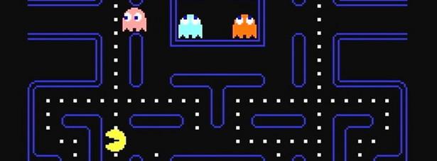 Pac-Man (1980) Czy gra, w której sterujemy żółtą kulką i zjadamy kolorowe duszki może odnieść jakikolwiek sukces? Spytajcie o to firmę Namco – twórcę legendarnego już Pac-Mana. Gra, którą wydano w sumie na kilkunastu platformach, do dziś potrafi wciągnąć na długie godziny. Niestety nikomu nie uda się już pobić rekordu świata ustanowionego przez Amerykanina Billy'ego Mitchella. Zdobył on w Pac-Manie 3,333,360 punktów. Więcej po prostu się nie da. (fot. screen z gry | ©Namco)