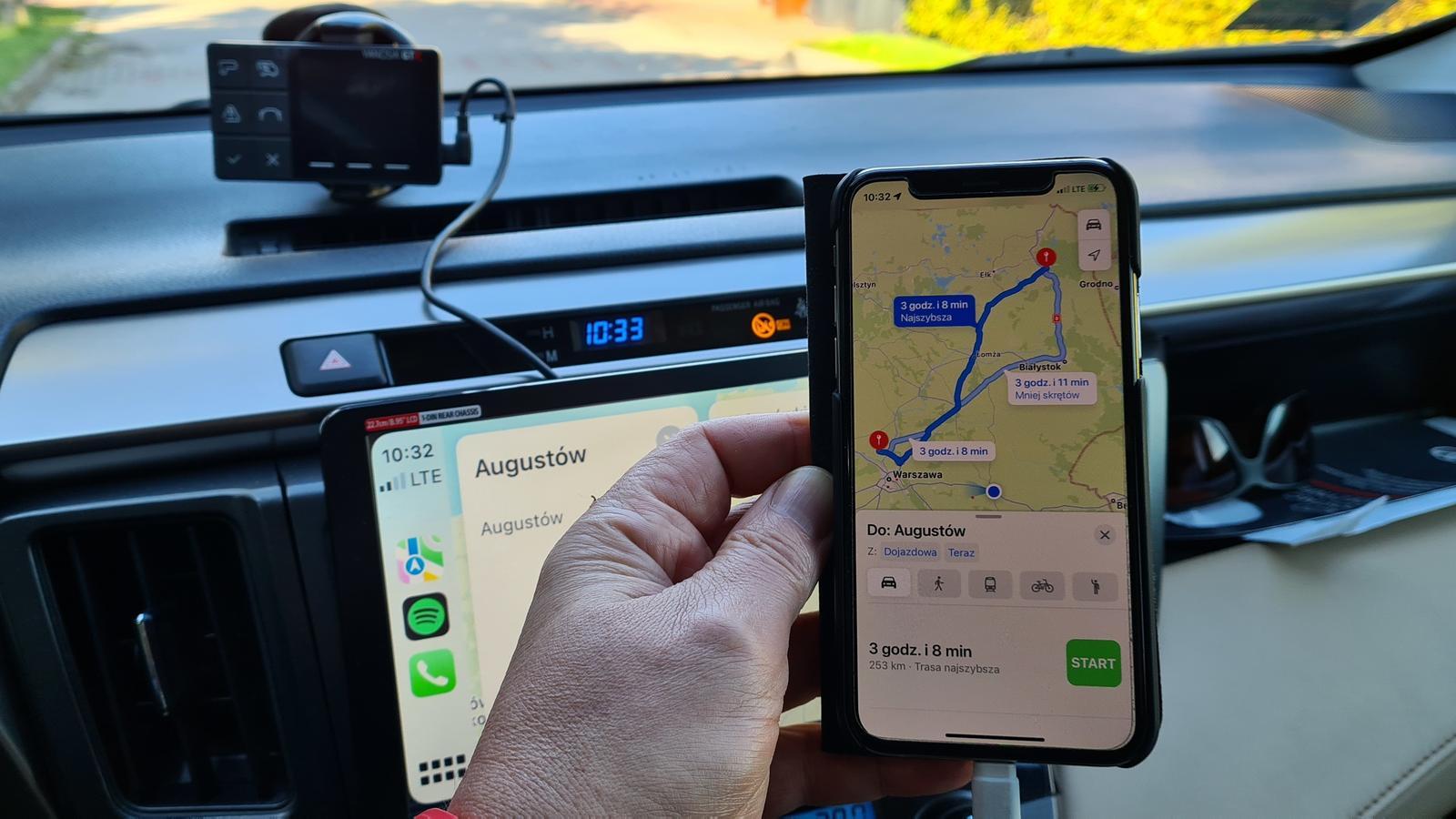 Apple zmienia nawigację - mniej zakrętów na trasie