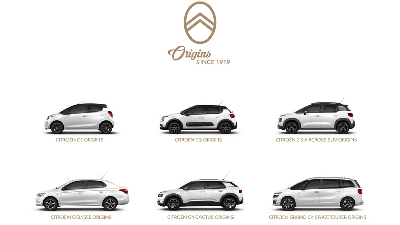 "Citroen ""Origins since 1919"""