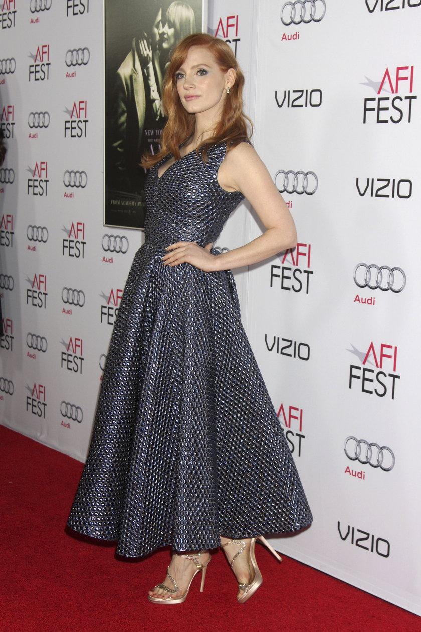 Jessica Chastain w kreacji Roksandy Ilincic
