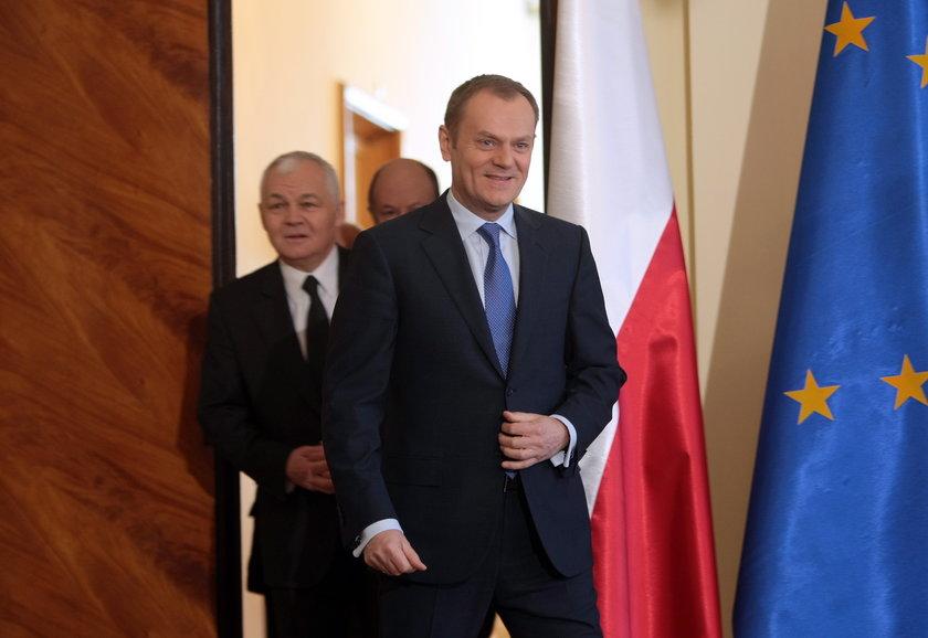 Donald Tusk i Jan Krzysztof Bielecki