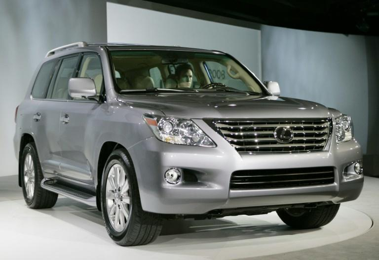 Toyota told a UN panel that it had not exported LX570 SUVs to North Korea and that the vehicles probably were bought through back channels