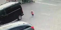 Wstrząsające sceny przed sklepem. Nagranie jeży włos na głowie