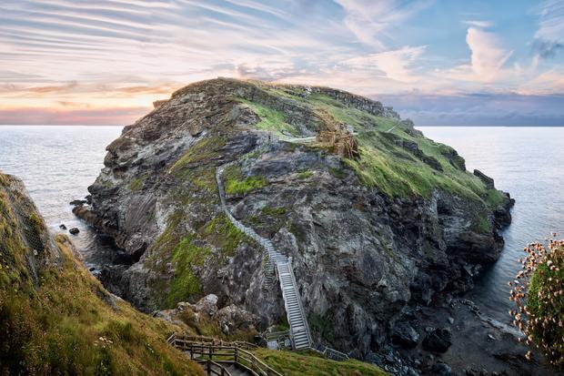 Wyspa Tintagel i pozostałości zamku króla Artura, Kornwalia