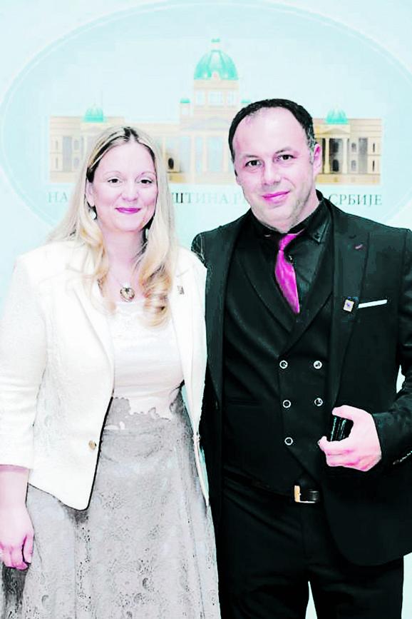 Milica Marčeta Kaninski i Slavko Karić
