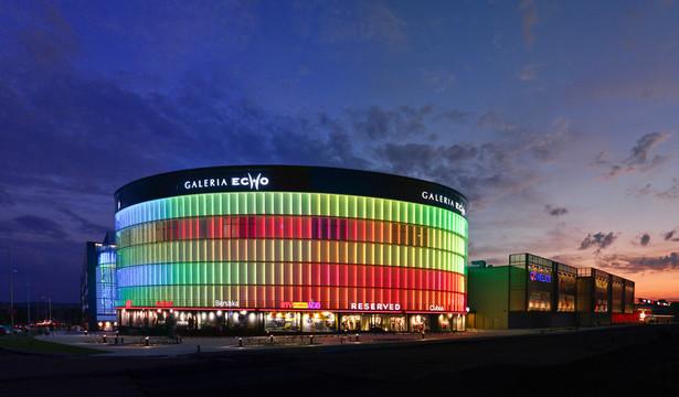 9. Galeria Echo – Kielce Galeria ma 70 tys. m kw. powierzchni handlowej, na której mieści ponad 300 sklepów