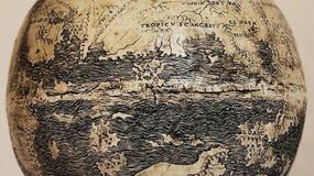 Najstarsza mapa świata wykonana na jaju strusia? Tak twierdzą włoscy geografowie