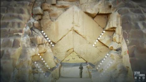 3D rekonstrukcija kamenja na piramidi