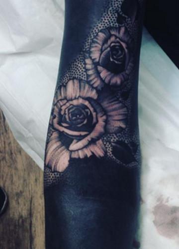 Czarne Tatuaże Wypełnione Tuszem Od A Do Z Albo Je Kochasz