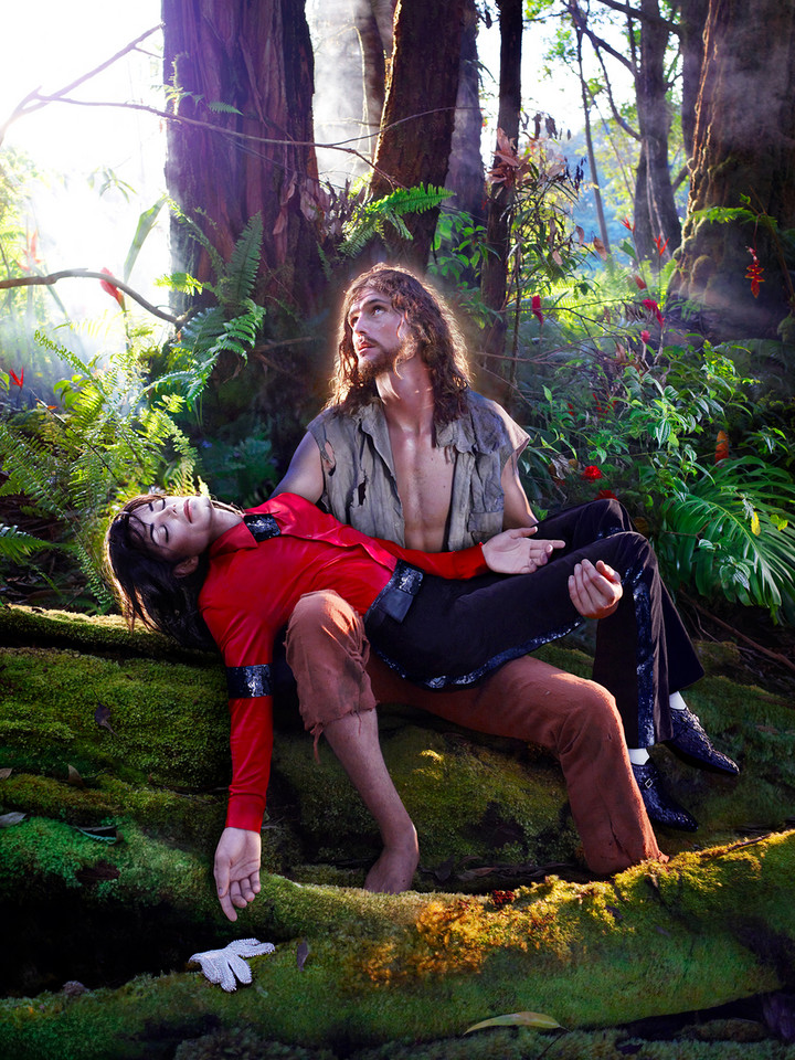 "David LaChapelle, ""The Beatification: I'll never let you part for you're always in my heart"" (2009)"