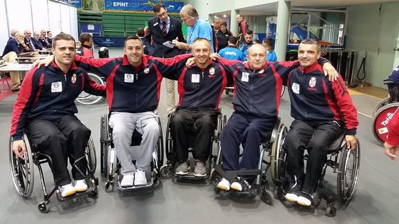 Ekipa Srbije u stonom tenisu