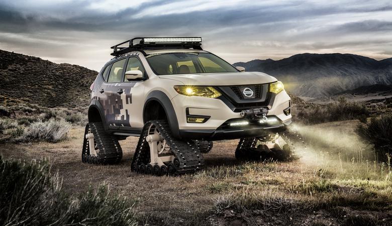 Nissan Rogue Trail Warrior Project – wjedzie wszędzie